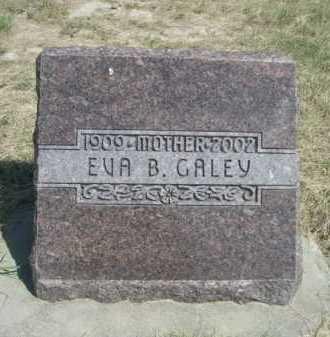 GALEY, EVA B. - Dawes County, Nebraska | EVA B. GALEY - Nebraska Gravestone Photos