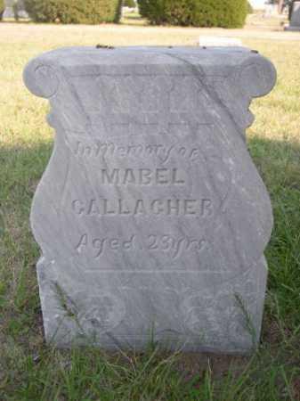 GALLAGHER, MABEL - Dawes County, Nebraska | MABEL GALLAGHER - Nebraska Gravestone Photos