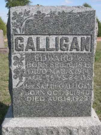 GALLIGAN, SARAH - Dawes County, Nebraska   SARAH GALLIGAN - Nebraska Gravestone Photos