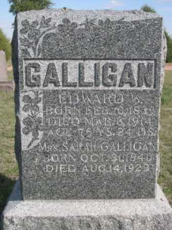 GALLIGAN, SARAH - Dawes County, Nebraska | SARAH GALLIGAN - Nebraska Gravestone Photos