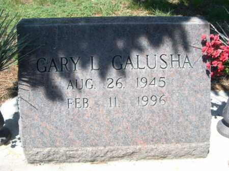 GALUSHA, GARY L. - Dawes County, Nebraska   GARY L. GALUSHA - Nebraska Gravestone Photos