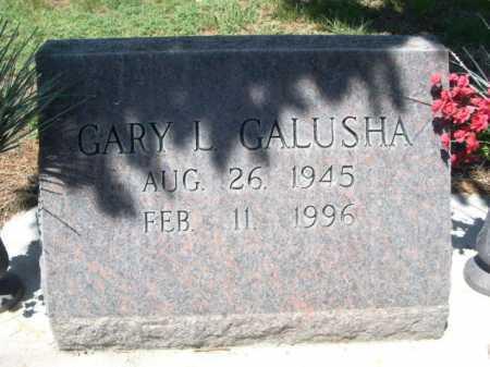 GALUSHA, GARY L. - Dawes County, Nebraska | GARY L. GALUSHA - Nebraska Gravestone Photos