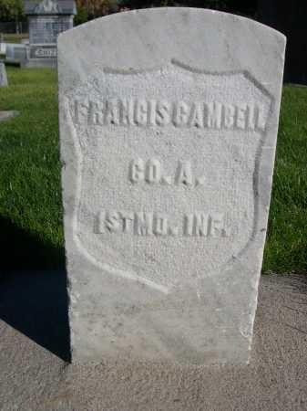 GAMBELL, FRANCIS - Dawes County, Nebraska | FRANCIS GAMBELL - Nebraska Gravestone Photos