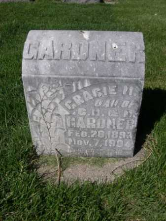 GARDNER, GRACIE M. - Dawes County, Nebraska   GRACIE M. GARDNER - Nebraska Gravestone Photos
