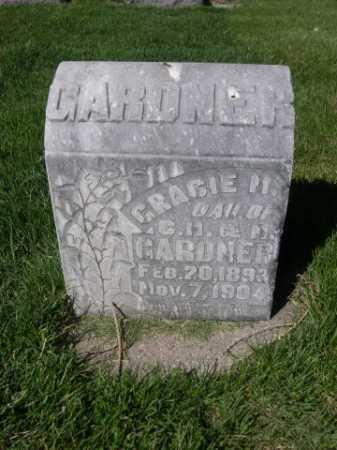 GARDNER, GRACIE M. - Dawes County, Nebraska | GRACIE M. GARDNER - Nebraska Gravestone Photos