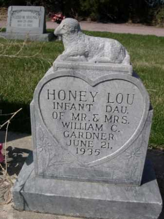 GARDNER, HONEY LOU - Dawes County, Nebraska | HONEY LOU GARDNER - Nebraska Gravestone Photos
