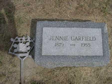 GARFIELD, JENNIE - Dawes County, Nebraska | JENNIE GARFIELD - Nebraska Gravestone Photos