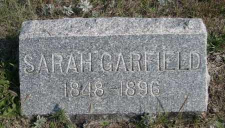 GARFIELD, SARAH - Dawes County, Nebraska   SARAH GARFIELD - Nebraska Gravestone Photos