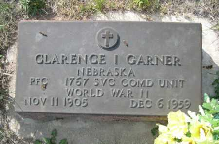 GARNER, CLARENCE I. - Dawes County, Nebraska | CLARENCE I. GARNER - Nebraska Gravestone Photos