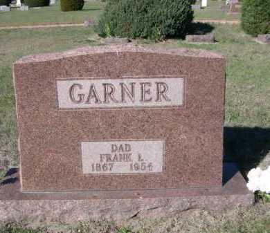 GARNER, FRANK L. - Dawes County, Nebraska | FRANK L. GARNER - Nebraska Gravestone Photos