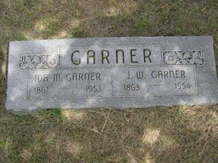 GARNER, J. W. - Dawes County, Nebraska | J. W. GARNER - Nebraska Gravestone Photos
