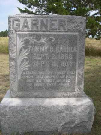 GARNER, TOMMY B. - Dawes County, Nebraska | TOMMY B. GARNER - Nebraska Gravestone Photos