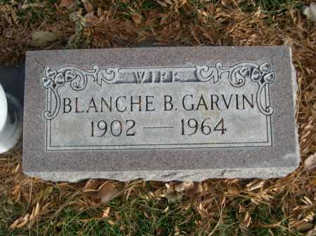 GARVIN, BLANCHE B. - Dawes County, Nebraska   BLANCHE B. GARVIN - Nebraska Gravestone Photos