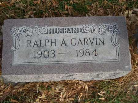 GARVIN, RALPH A. - Dawes County, Nebraska | RALPH A. GARVIN - Nebraska Gravestone Photos