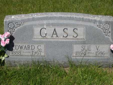 GASS, EDWARD C. - Dawes County, Nebraska | EDWARD C. GASS - Nebraska Gravestone Photos