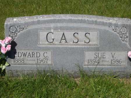 GASS, SUE V. - Dawes County, Nebraska | SUE V. GASS - Nebraska Gravestone Photos