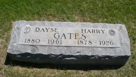 GATES, HARRY - Dawes County, Nebraska | HARRY GATES - Nebraska Gravestone Photos