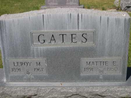 GATES, LEROY M. - Dawes County, Nebraska | LEROY M. GATES - Nebraska Gravestone Photos