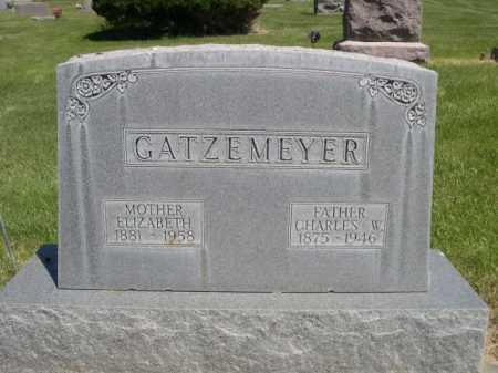 GATZEMEYER, ELIZABETH - Dawes County, Nebraska | ELIZABETH GATZEMEYER - Nebraska Gravestone Photos