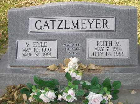 GATZEMEYER, V. HYLE - Dawes County, Nebraska | V. HYLE GATZEMEYER - Nebraska Gravestone Photos