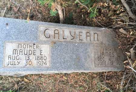 GALYEAN, JAMES W. - Dawes County, Nebraska | JAMES W. GALYEAN - Nebraska Gravestone Photos