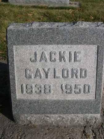GAYLORD, JACKIE - Dawes County, Nebraska | JACKIE GAYLORD - Nebraska Gravestone Photos