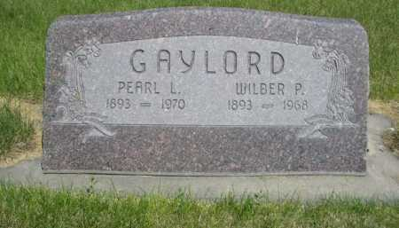 GAYLORD, PEARL L - Dawes County, Nebraska | PEARL L GAYLORD - Nebraska Gravestone Photos