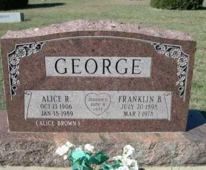 GEORGE, FRANKLIN B. - Dawes County, Nebraska | FRANKLIN B. GEORGE - Nebraska Gravestone Photos