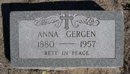 GERGEN, ANNA - Dawes County, Nebraska | ANNA GERGEN - Nebraska Gravestone Photos