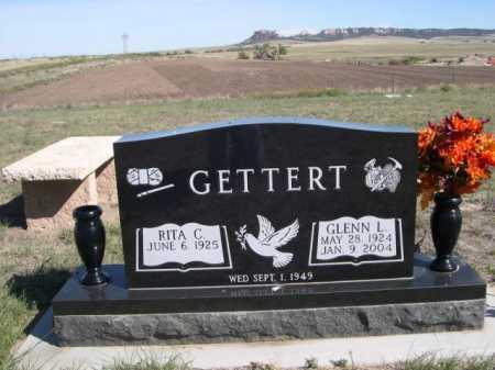 GETTERT, GLENN L. - Dawes County, Nebraska | GLENN L. GETTERT - Nebraska Gravestone Photos