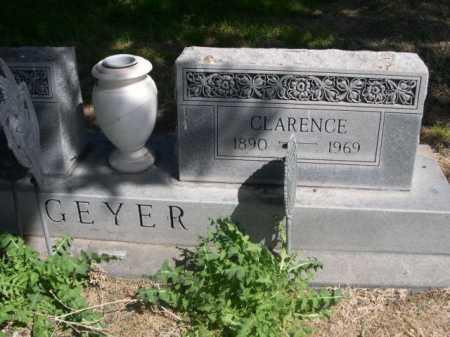 GEYER, CLARENCE - Dawes County, Nebraska | CLARENCE GEYER - Nebraska Gravestone Photos