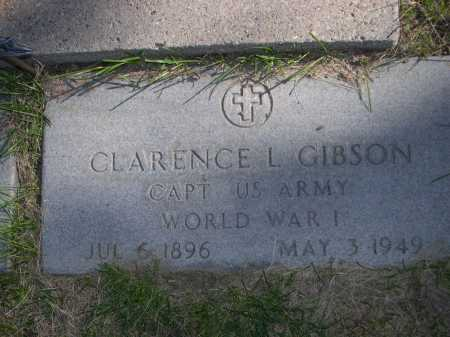 GIBSON, CLARENCE L. - Dawes County, Nebraska   CLARENCE L. GIBSON - Nebraska Gravestone Photos