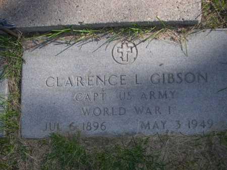 GIBSON, CLARENCE L. - Dawes County, Nebraska | CLARENCE L. GIBSON - Nebraska Gravestone Photos