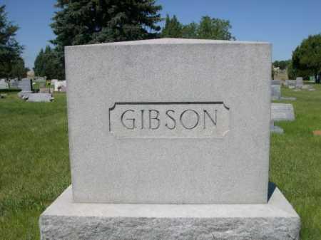 GIBSON, FAMILY - Dawes County, Nebraska | FAMILY GIBSON - Nebraska Gravestone Photos