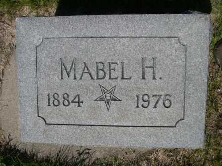 GIBSON, MABEL H. - Dawes County, Nebraska   MABEL H. GIBSON - Nebraska Gravestone Photos