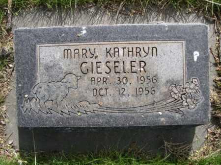 GIESELER, MARY - Dawes County, Nebraska | MARY GIESELER - Nebraska Gravestone Photos
