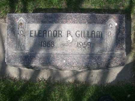 GILLAM, ELEANOR B. - Dawes County, Nebraska | ELEANOR B. GILLAM - Nebraska Gravestone Photos