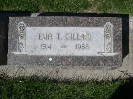 GILLAM, EVA T. - Dawes County, Nebraska | EVA T. GILLAM - Nebraska Gravestone Photos