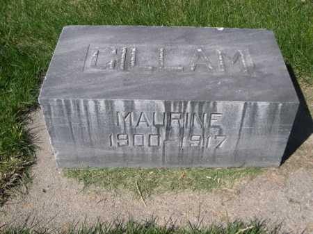 GILLAM, MAURINE - Dawes County, Nebraska   MAURINE GILLAM - Nebraska Gravestone Photos