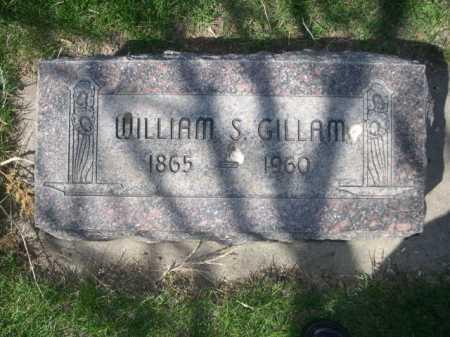 GILLAM, WILLIAM S. - Dawes County, Nebraska | WILLIAM S. GILLAM - Nebraska Gravestone Photos