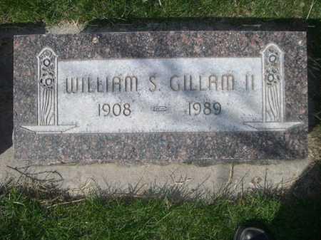 GILLAM, WILLIAM S. II - Dawes County, Nebraska | WILLIAM S. II GILLAM - Nebraska Gravestone Photos