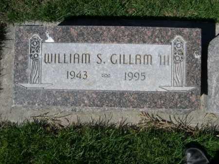 GILLAM, WILLIAM S. III - Dawes County, Nebraska | WILLIAM S. III GILLAM - Nebraska Gravestone Photos