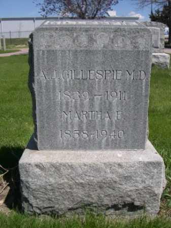GILLESPIE, DR. A. J. - Dawes County, Nebraska | DR. A. J. GILLESPIE - Nebraska Gravestone Photos