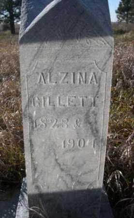 GILLETT, ALZINA - Dawes County, Nebraska | ALZINA GILLETT - Nebraska Gravestone Photos