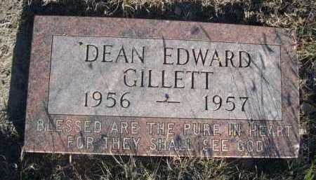 GILLETT, DEAN EDWARD - Dawes County, Nebraska | DEAN EDWARD GILLETT - Nebraska Gravestone Photos