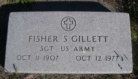 GILLETT, FISHER S. - Dawes County, Nebraska | FISHER S. GILLETT - Nebraska Gravestone Photos