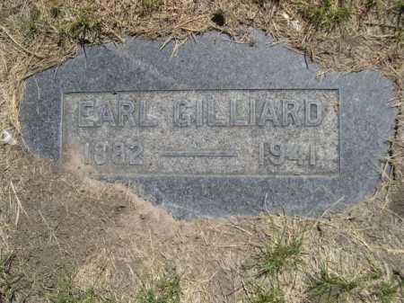 GILLIARD, EARL - Dawes County, Nebraska | EARL GILLIARD - Nebraska Gravestone Photos