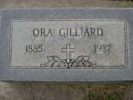 GILLIARD, ORA - Dawes County, Nebraska | ORA GILLIARD - Nebraska Gravestone Photos