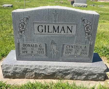GILMAN, DONALD G. - Dawes County, Nebraska | DONALD G. GILMAN - Nebraska Gravestone Photos