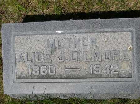 GILMORE, ALICE J. - Dawes County, Nebraska | ALICE J. GILMORE - Nebraska Gravestone Photos